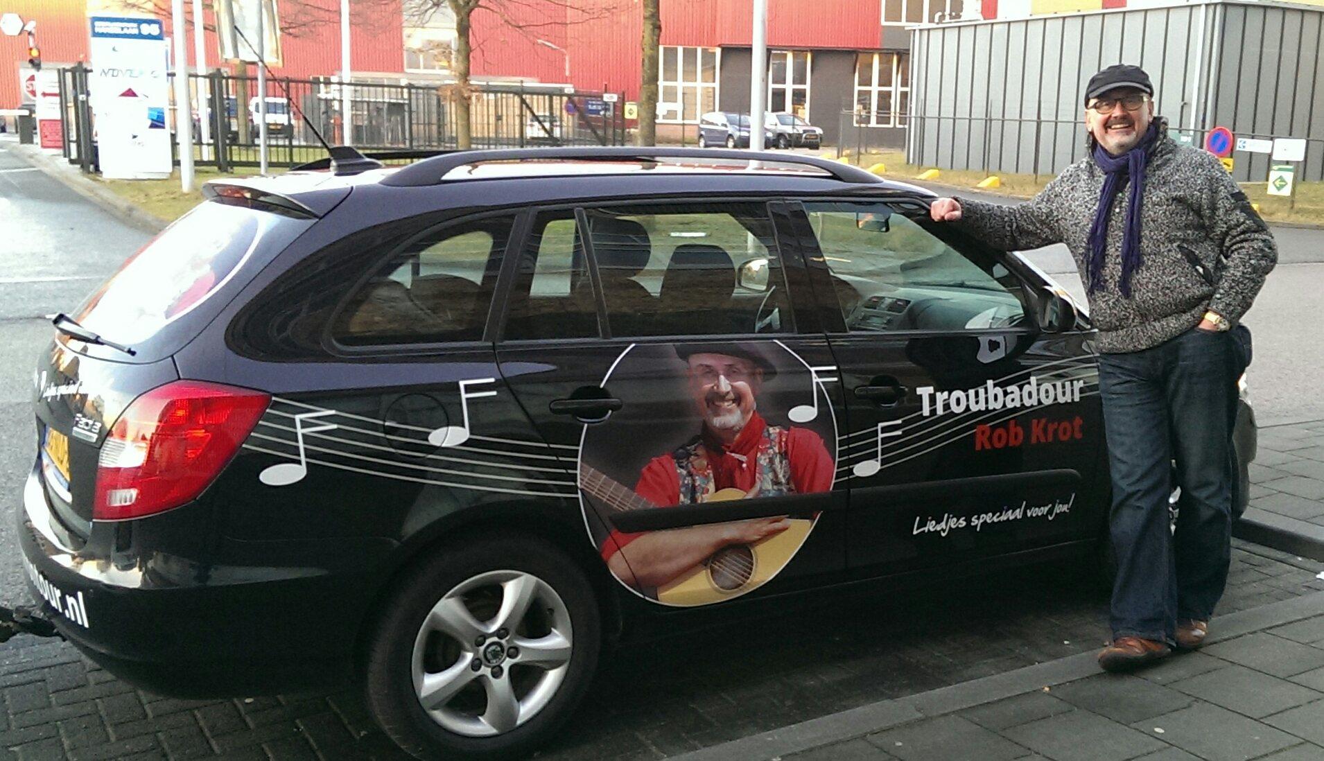 Troubadour Rob Krot On Tour Agenda!