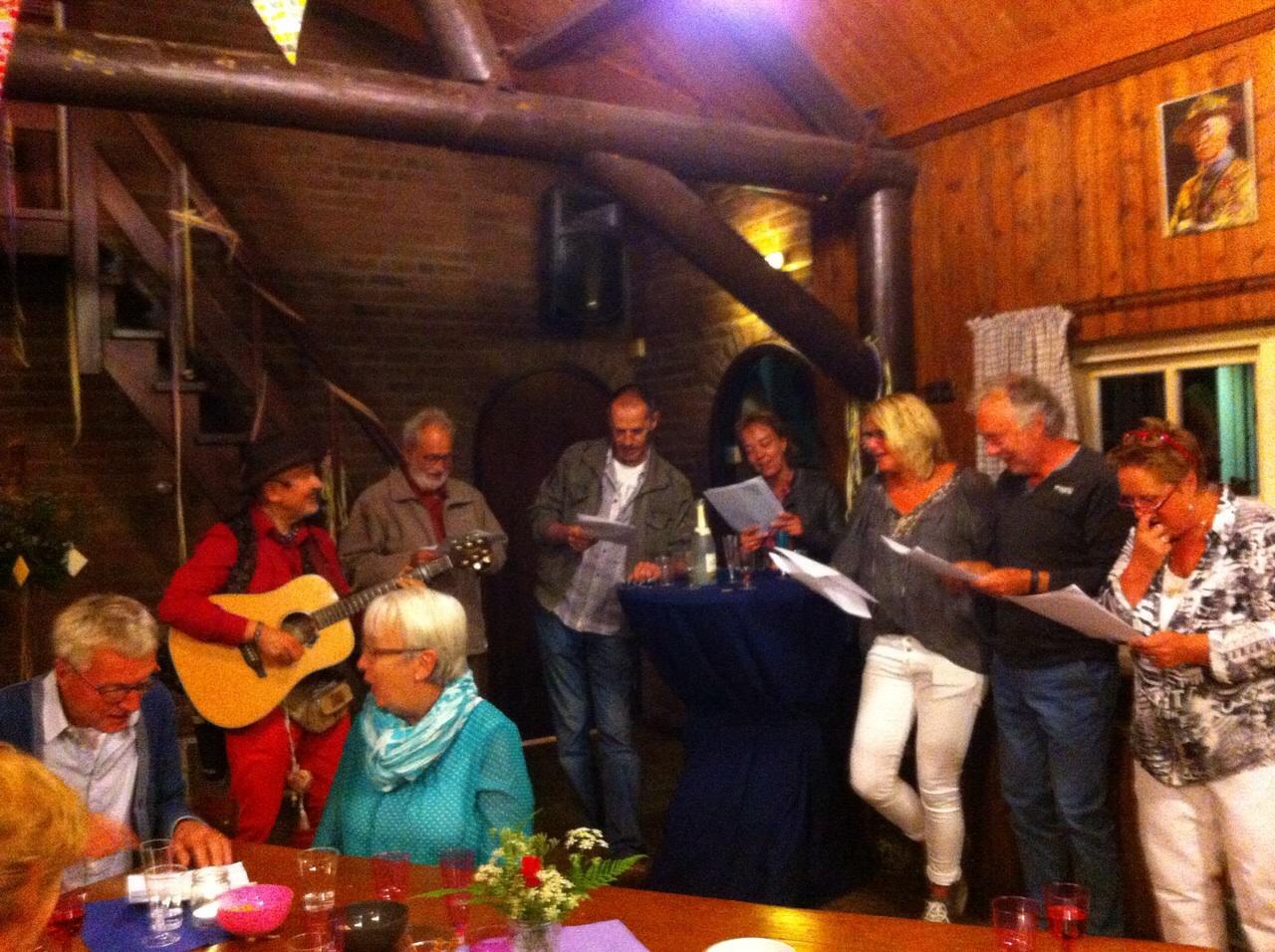 Zingen met Troubadour Rob Krot