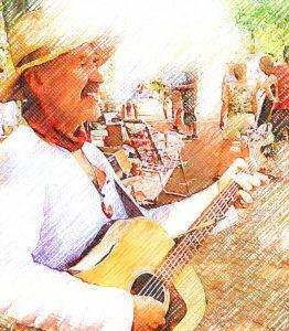 Troubadour Rob Krot Broeklander Fair