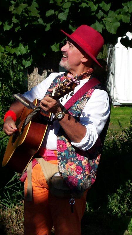 Troubadour Rob Krot Live Muziek Fair Marienwaerdt 2016