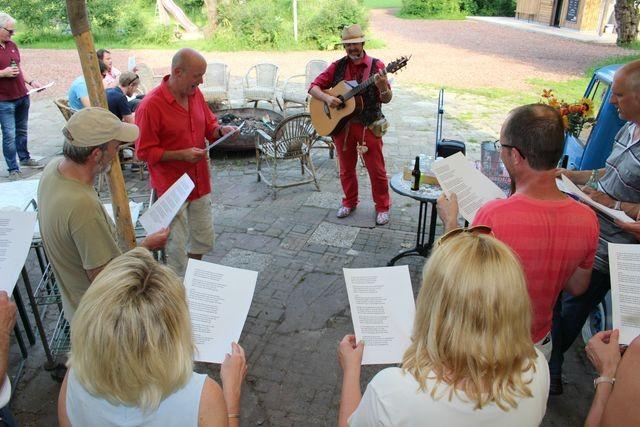 Troubadour Rob Krot Bedrijfsfeest Gemeente Nijmegen